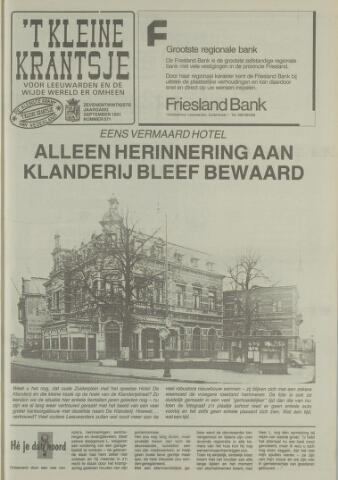 't Kleine Krantsje, 1964-1997 1991-09-01