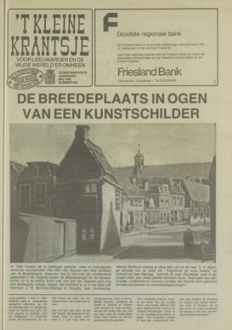 't Kleine Krantsje, 1964-1997 1990-05-01