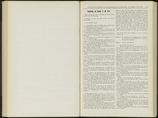 Raadsverslagen van de gemeente Leeuwarden, 1865-2007 (Notulen) 1934-07-17