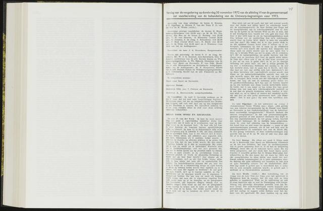 Raadsverslagen van de gemeente Leeuwarden, 1865-2007 (Notulen) 1972-11-30
