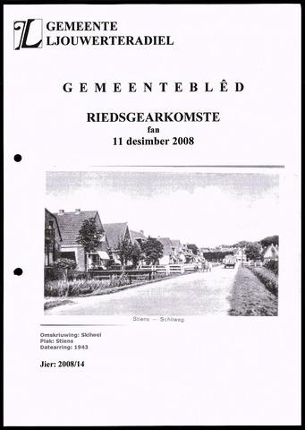 Notulen van de gemeenteraad van Leeuwarderadeel 2008-12-11