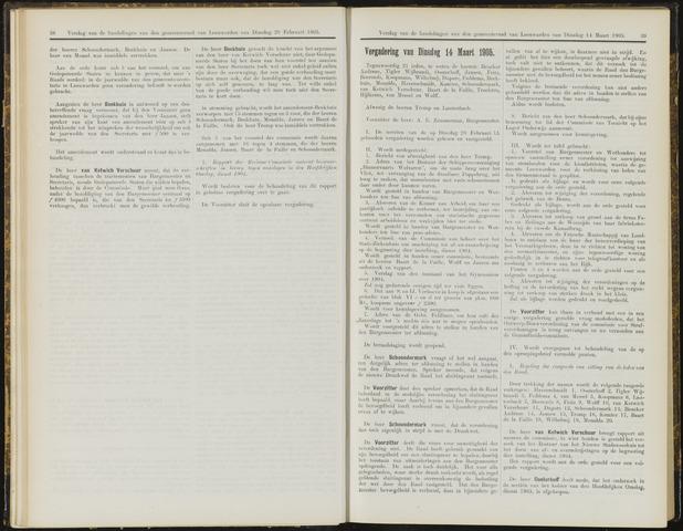 Raadsverslagen van de gemeente Leeuwarden, 1865-2007 (Notulen) 1905-03-14