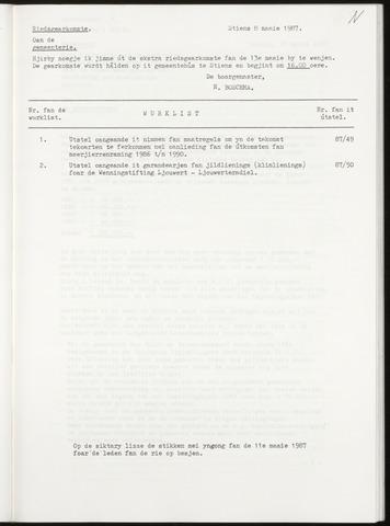Notulen van de gemeenteraad van Leeuwarderadeel 1987-05-13