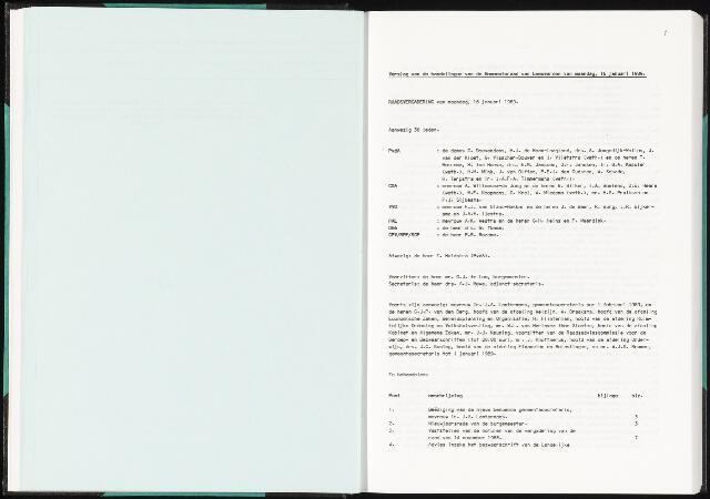 Raadsverslagen van de gemeente Leeuwarden, 1865-2007 (Notulen) 1989