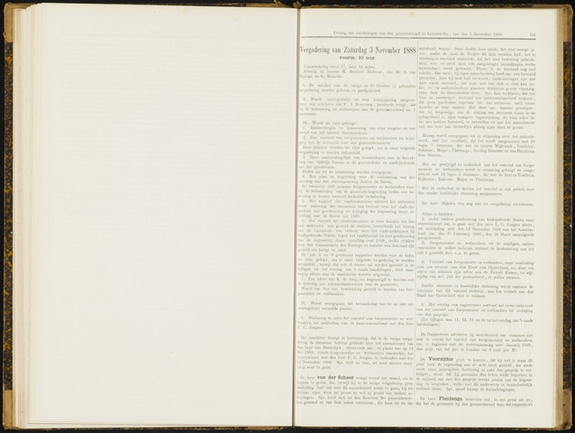 Raadsverslagen van de gemeente Leeuwarden, 1865-2007 (Notulen) 1888-11-03