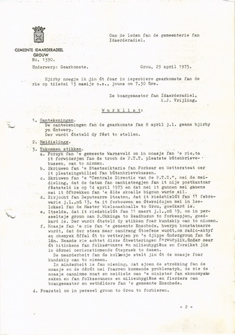 raadsverslagen Idaarderadeel 1935-1983 1975-05-13