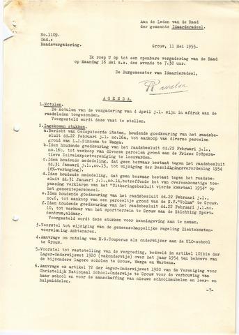 raadsverslagen Idaarderadeel 1935-1983 1955-05-16