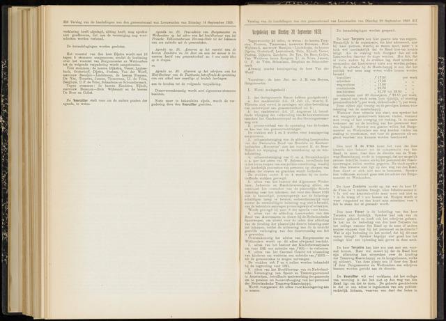Raadsverslagen van de gemeente Leeuwarden, 1865-2007 (Notulen) 1920-09-28