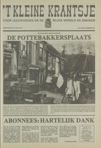 't Kleine Krantsje, 1964-1997 1976-12-04