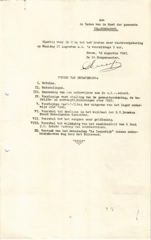 raadsverslagen Idaarderadeel 1935-1983 1947-08-25