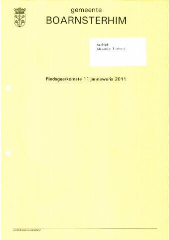 Boarnsterhim vergaderstukken gemeenteraad  2011-01-11