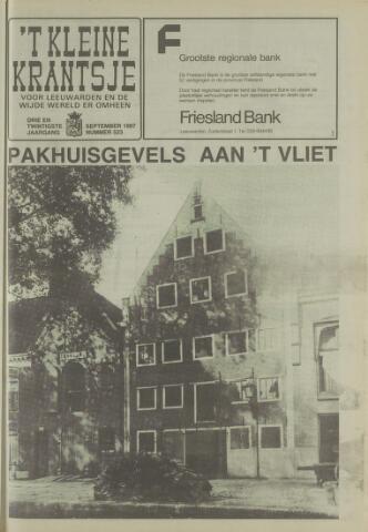 't Kleine Krantsje, 1964-1997 1987-09-01