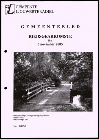 Notulen van de gemeenteraad van Leeuwarderadeel 2005-11-03