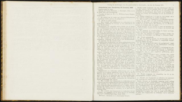 Raadsverslagen van de gemeente Leeuwarden, 1865-2007 (Notulen) 1880-01-22