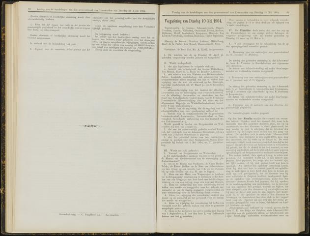 Raadsverslagen van de gemeente Leeuwarden, 1865-2007 (Notulen) 1904-05-10