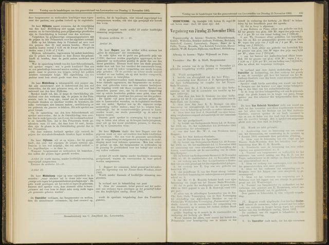 Raadsverslagen van de gemeente Leeuwarden, 1865-2007 (Notulen) 1902-11-25