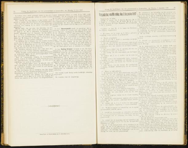 Raadsverslagen van de gemeente Leeuwarden, 1865-2007 (Notulen) 1897-08-02