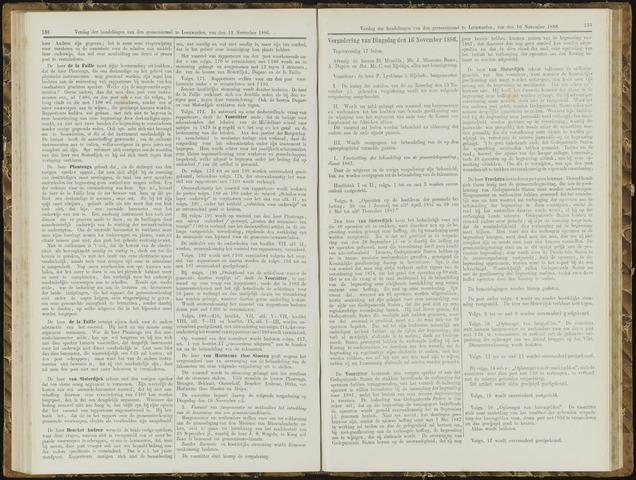 Raadsverslagen van de gemeente Leeuwarden, 1865-2007 (Notulen) 1886-11-16