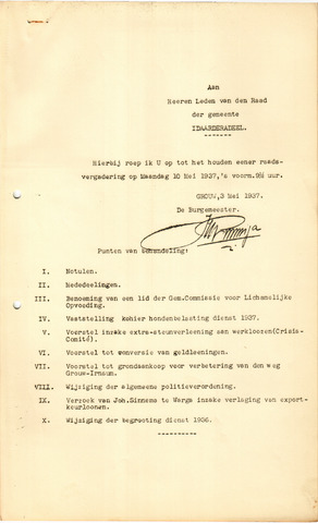 raadsverslagen Idaarderadeel 1935-1983 1937-05-10