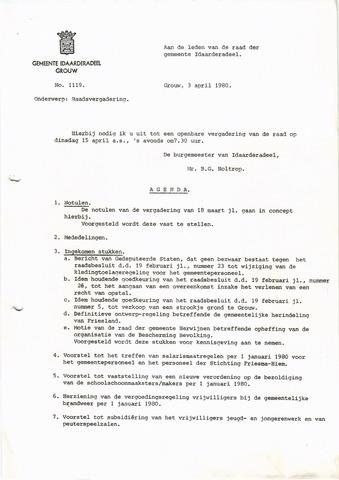 raadsverslagen Idaarderadeel 1935-1983 1980-04-15