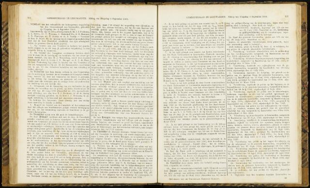 Raadsverslagen van de gemeente Leeuwarden, 1865-2007 (Notulen) 1866-09-04