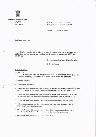 raadsverslagen Idaarderadeel 1935-1983 1980-12-16