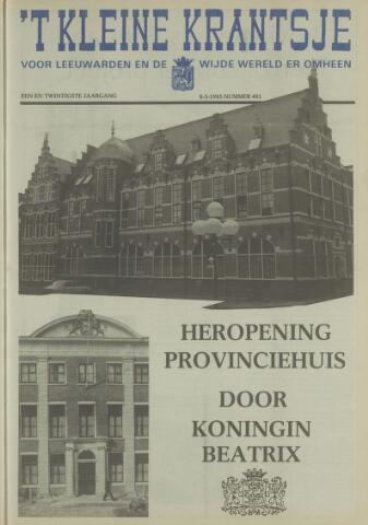 't Kleine Krantsje, 1964-1997 1985-05-08