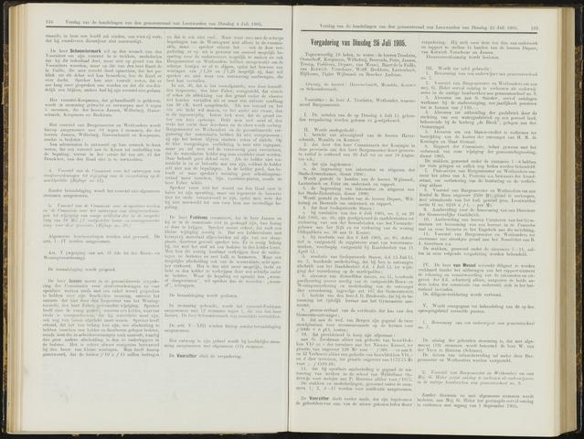 Raadsverslagen van de gemeente Leeuwarden, 1865-2007 (Notulen) 1905-07-25