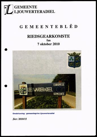 Notulen van de gemeenteraad van Leeuwarderadeel 2010-10-07