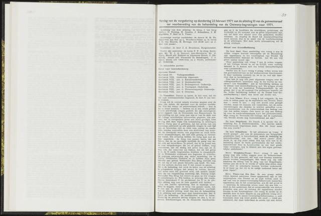 Raadsverslagen van de gemeente Leeuwarden, 1865-2007 (Notulen) 1971-02-25