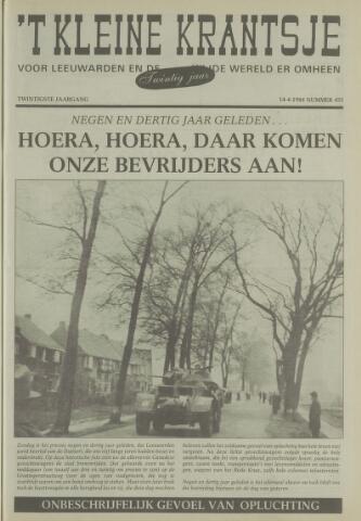 't Kleine Krantsje, 1964-1997 1984-04-14