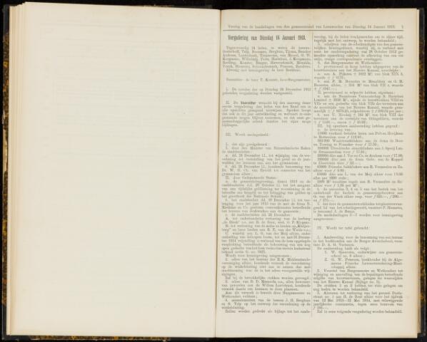 Raadsverslagen van de gemeente Leeuwarden, 1865-2007 (Notulen) 1913