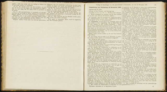 Raadsverslagen van de gemeente Leeuwarden, 1865-2007 (Notulen) 1880-11-25
