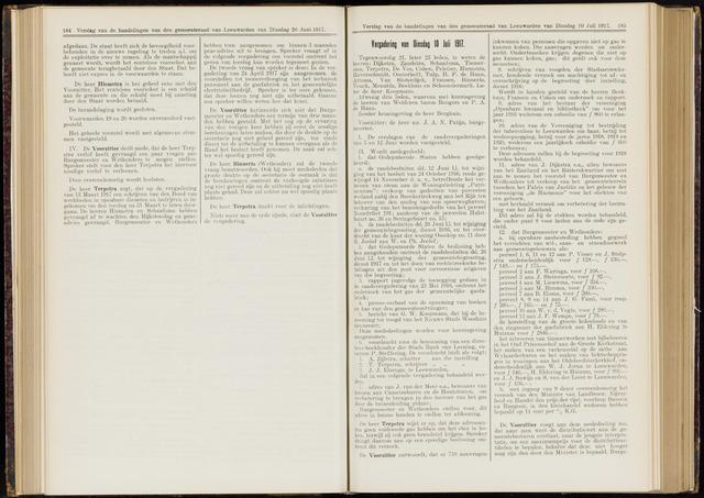 Raadsverslagen van de gemeente Leeuwarden, 1865-2007 (Notulen) 1917-07-10