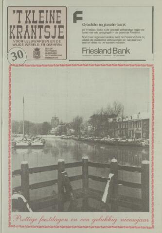 't Kleine Krantsje, 1964-1997 1994-12-01