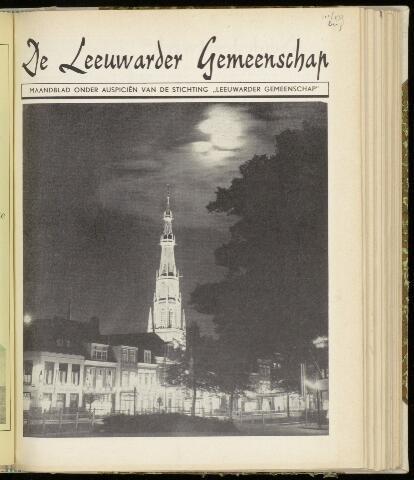 Leeuwarder Gemeenschap 1954-09-01