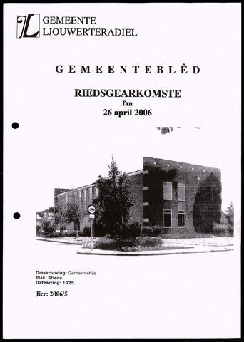 Notulen van de gemeenteraad van Leeuwarderadeel 2006-04-26