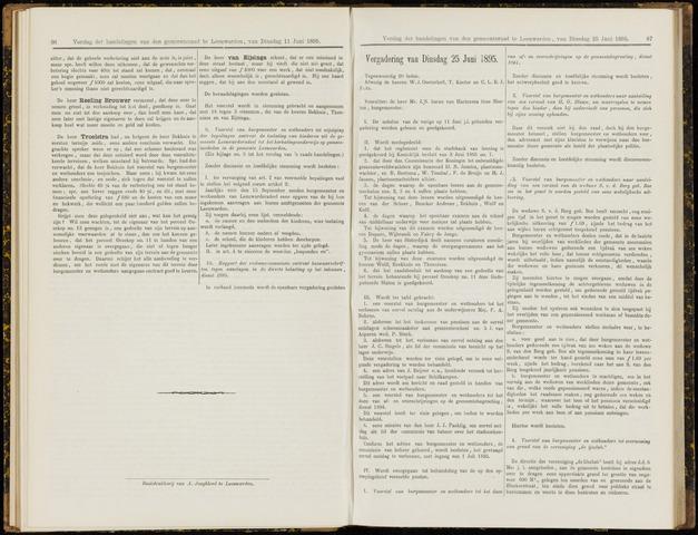 Raadsverslagen van de gemeente Leeuwarden, 1865-2007 (Notulen) 1895-06-25