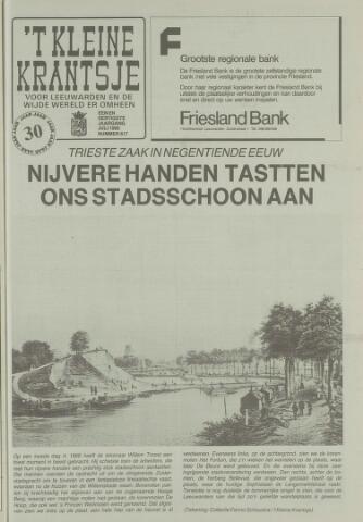 't Kleine Krantsje, 1964-1997 1995-07-01