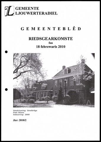 Notulen van de gemeenteraad van Leeuwarderadeel 2010-02-18