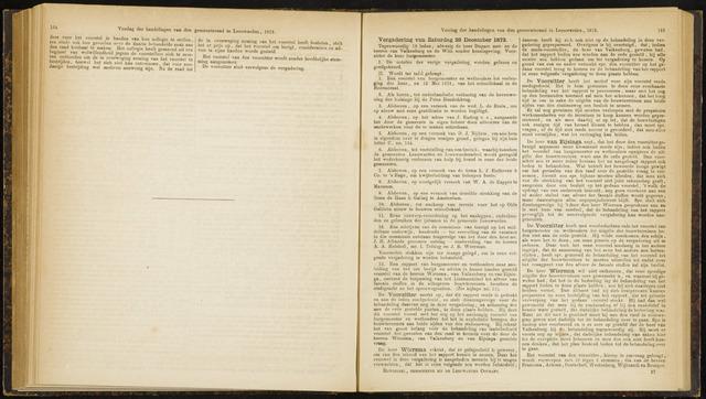 Raadsverslagen van de gemeente Leeuwarden, 1865-2007 (Notulen) 1872-12-28