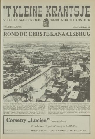 't Kleine Krantsje, 1964-1997 1976-06-12
