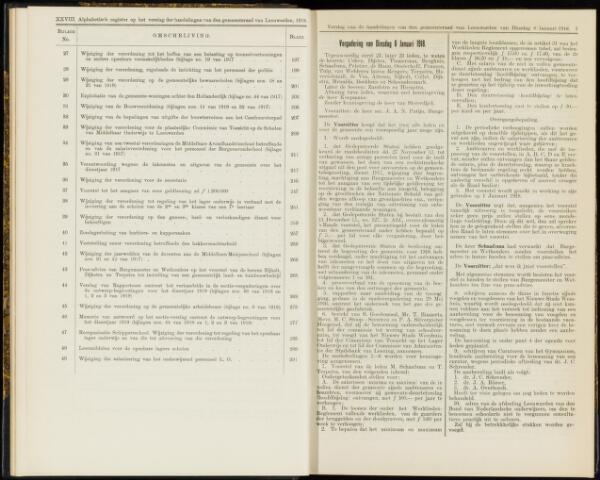 Raadsverslagen van de gemeente Leeuwarden, 1865-2007 (Notulen) 1918