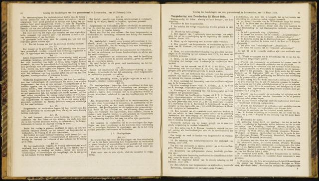 Raadsverslagen van de gemeente Leeuwarden, 1865-2007 (Notulen) 1874-03-12