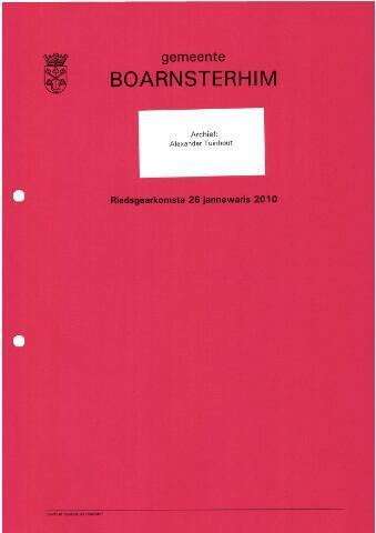 Boarnsterhim vergaderstukken gemeenteraad  2010-01-26