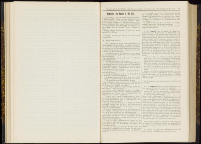 Raadsverslagen van de gemeente Leeuwarden, 1865-2007 (Notulen) 1927-05-17
