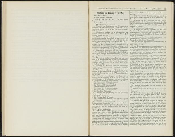 Raadsverslagen van de gemeente Leeuwarden, 1865-2007 (Notulen) 1940-07-17