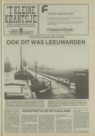 't Kleine Krantsje, 1964-1997 1987-01-01