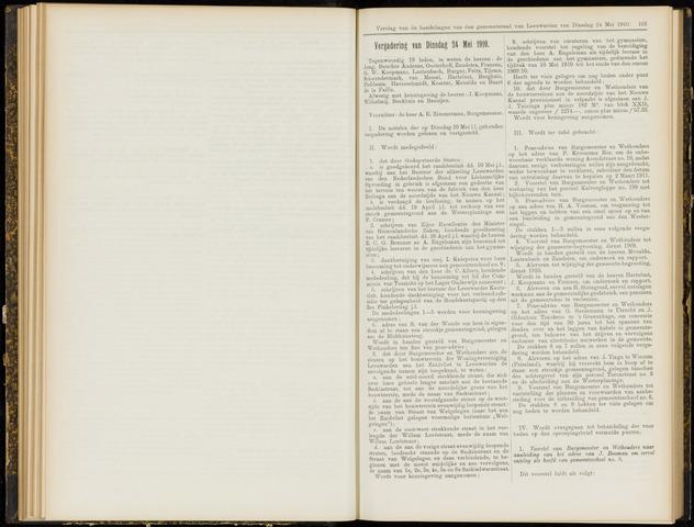 Raadsverslagen van de gemeente Leeuwarden, 1865-2007 (Notulen) 1910-05-24