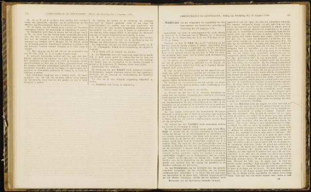 Raadsverslagen van de gemeente Leeuwarden, 1865-2007 (Notulen) 1868-08-13